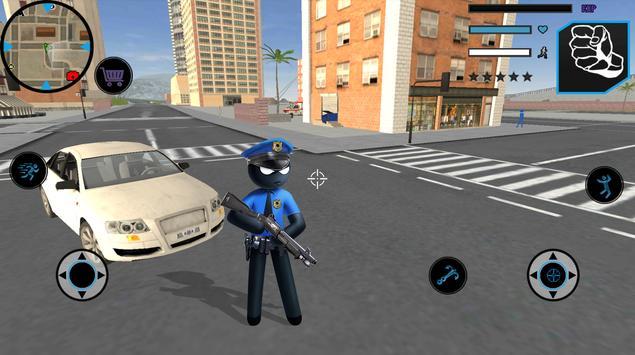 US Police Stickman screenshot 4