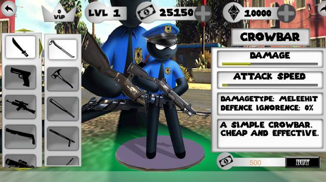 US Police Stickman screenshot 6