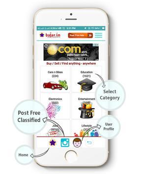 Classifieds Ad Posting App screenshot 1