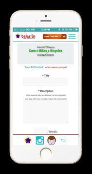 Classifieds Ad Posting App screenshot 3