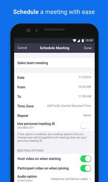 ZOOM Cloud Meetings screenshot 4