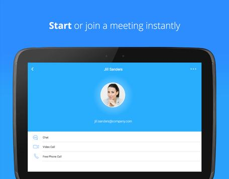 ZOOM Cloud Meetings スクリーンショット 5