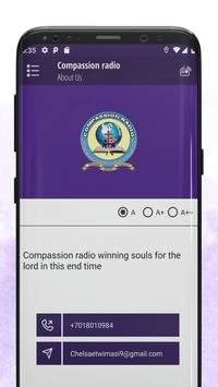 Compassion radio screenshot 3