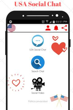 USA Social Chat - Meet and Chat with singles poster