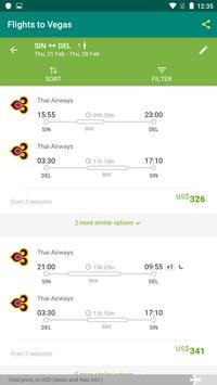 Flights To Vegas screenshot 2
