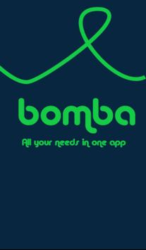 Bomba Services App  Food, Shopping, Courier poster