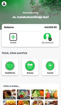 Bomba Services App  Food, Shopping, Courier screenshot 1