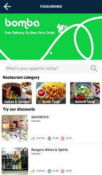 Bomba Services App  Food, Shopping, Courier screenshot 2