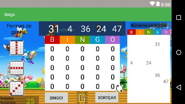 Bingo! screenshot 1