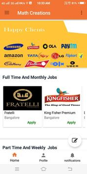 Math Creations-Part time-Full time-Freshers Jobs screenshot 3