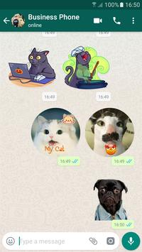 Personal Sticker Maker for WhatsApp WaStickerApps poster
