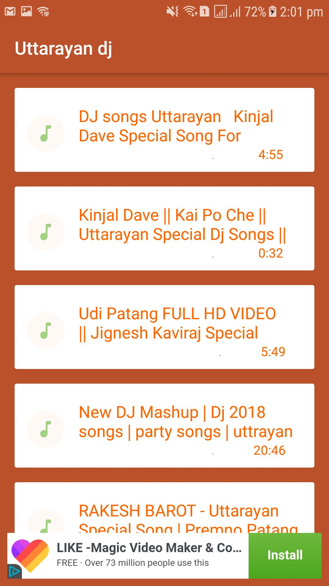 Uttarayan DJ Mix Song/Mp3 2019 for Android - APK Download