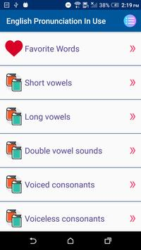 English Pronunciation In Use скриншот 1