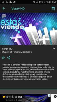 1 Schermata VeraTV
