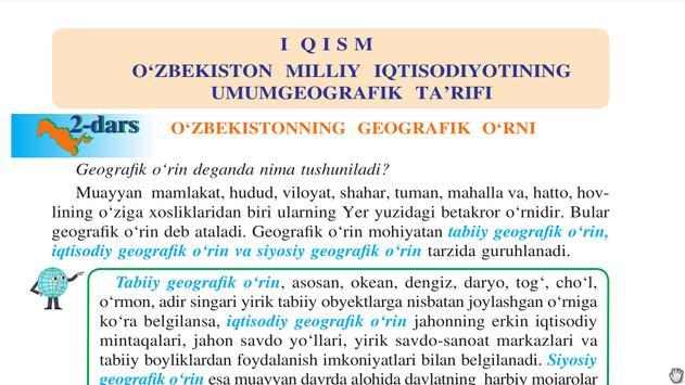 Geografiya 8-sinf screenshot 4