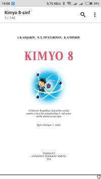 Kimyo 8-sinf screenshot 1
