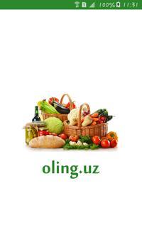 Oling.uz --- internet magazine poster