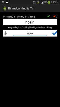 Bilimdon - Ingliz Tili screenshot 3