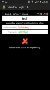 Bilimdon - Ingliz Tili screenshot 6