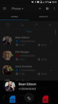 Telepon + Kontak dan Panggilan syot layar 1