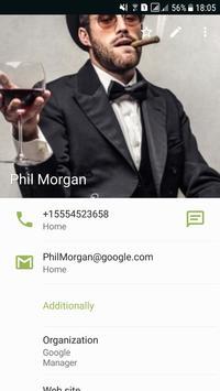 Telepon + Kontak dan Panggilan syot layar 4