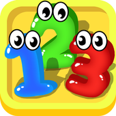123 number games for kids - Cool math games icon