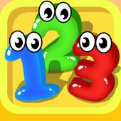 ikon Belajar angka dan berhitung - Game anak gratis