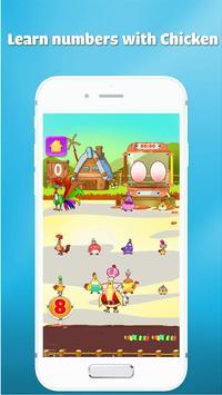 Wiskunde oefenen leren tellen voor kinderen spel screenshot 4