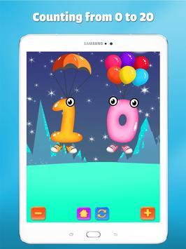 Wiskunde oefenen leren tellen voor kinderen spel screenshot 7