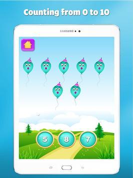 123 number games for kids - Cool math games screenshot 14