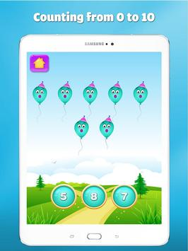 Wiskunde oefenen leren tellen voor kinderen spel screenshot 14