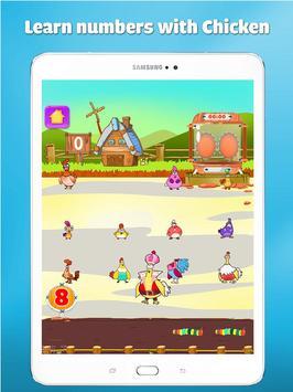 Wiskunde oefenen leren tellen voor kinderen spel screenshot 16