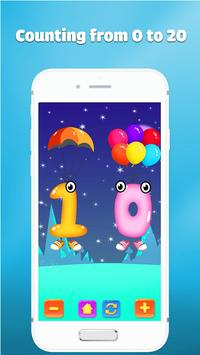 123 number games for kids - Cool math games screenshot 1