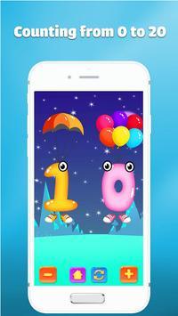 Wiskunde oefenen leren tellen voor kinderen spel screenshot 1