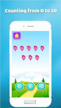123 number games for kids - Cool math games screenshot 2