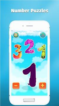 Wiskunde oefenen leren tellen voor kinderen spel screenshot 3