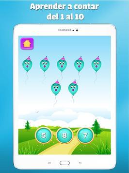juegos de numeros para niños - Aprender a contar captura de pantalla 14