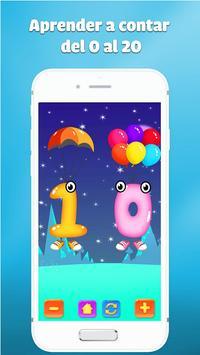 juegos de numeros para niños - Aprender a contar captura de pantalla 1