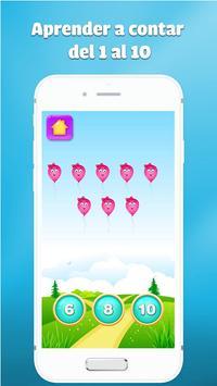 juegos de numeros para niños - Aprender a contar captura de pantalla 2