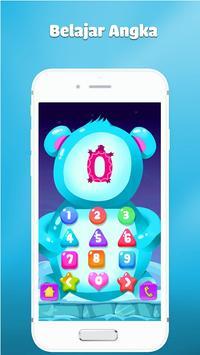 Belajar angka dan berhitung - Game anak gratis poster
