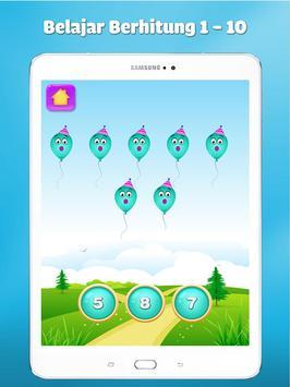 Belajar angka dan berhitung - Game anak gratis screenshot 14