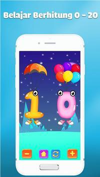 Belajar angka dan berhitung - Game anak gratis screenshot 1