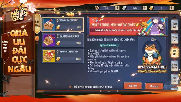 Nhẫn Giả Vô Song 3D screenshot 1