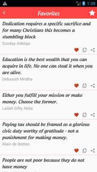 Best Wealth Quotes screenshot 1