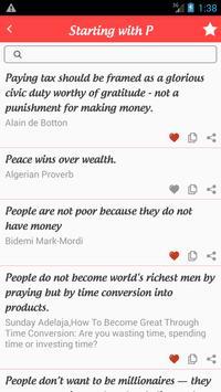 Best Wealth Quotes screenshot 2
