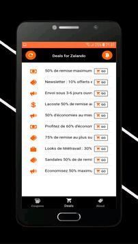 Coupons for Zalando screenshot 1