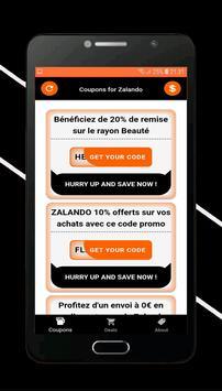 Coupons for Zalando screenshot 2