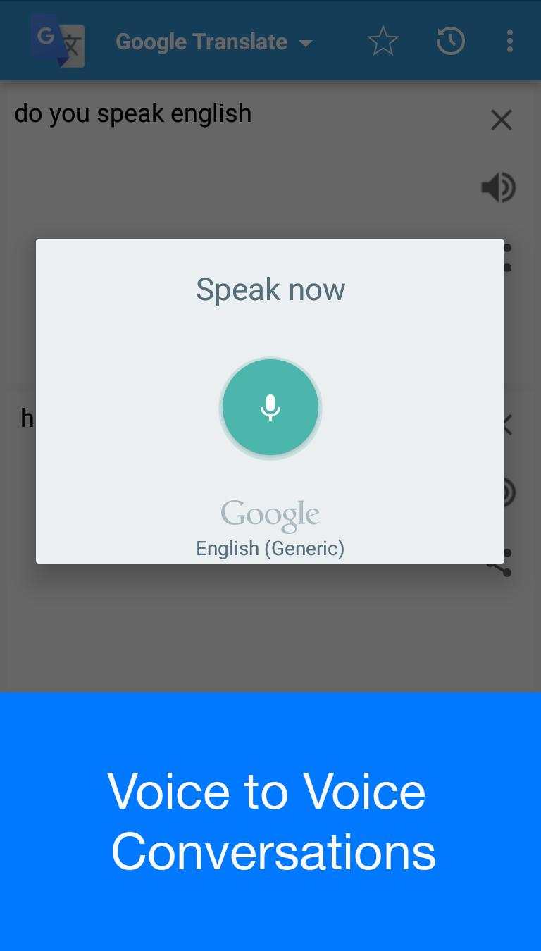 Voice Translator For Android Apk