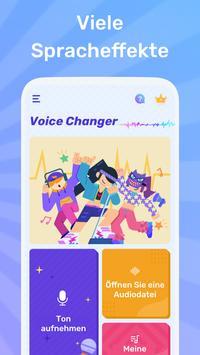 Lustiger Stimmenwechsler mit Spracheffekten Screenshot 1
