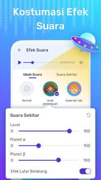 Pengubah Suara Gratis - Perubah Suara Dengan Efek screenshot 2